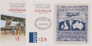 AUS 01/10/2019 Centenary of First England to Australia Flight self-adhesive set of 2 from booklets